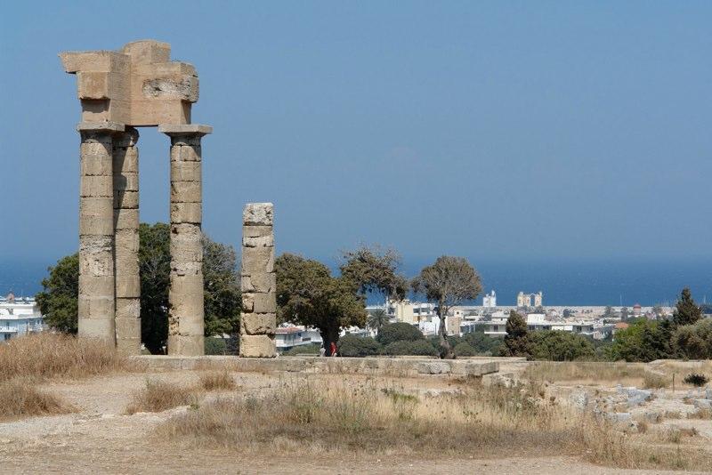 Akropolis Rhodos Stadt