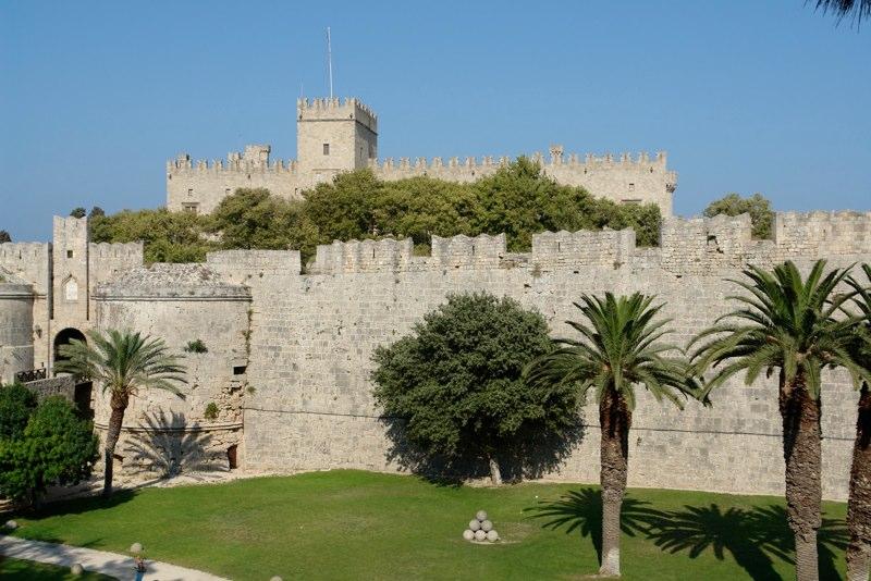 Großmeisterpalast Rhodos Stadt