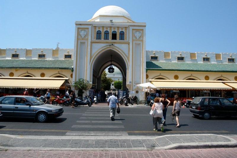 Markthalle Rhodos Stadt