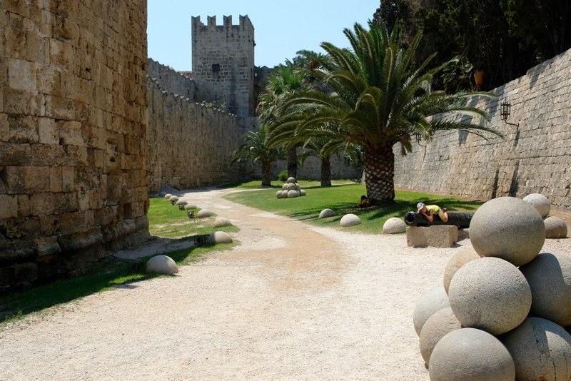 Festungsanlagen Rhodos Altstadt