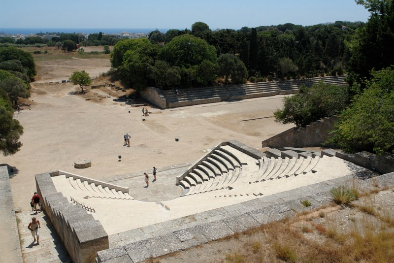 Amphitheater Rhodos Stadt