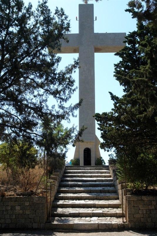 Kreuz beim Kloster Filerimos