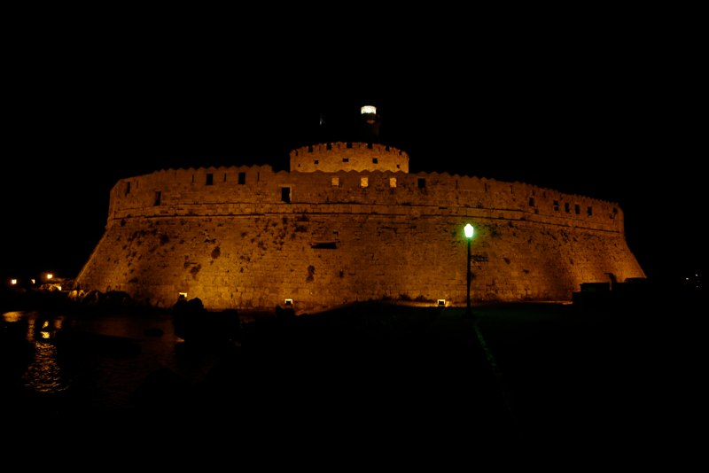 Agios Nikolaos Kastell Rhodos Stadt